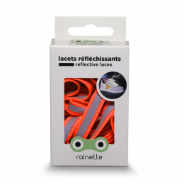 RAINETTE REFLECTIVE SHOE LACES FLUO ORANGE
