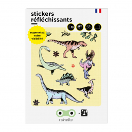 RAINETTE REFLECTIVE STICKERS DINO