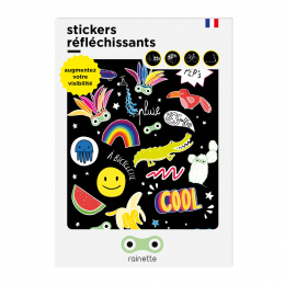 RAINETTE REFLECTIVE STICKERS PEPS